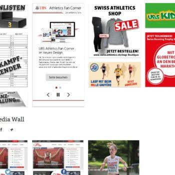 Neue Website Swiss Athletics