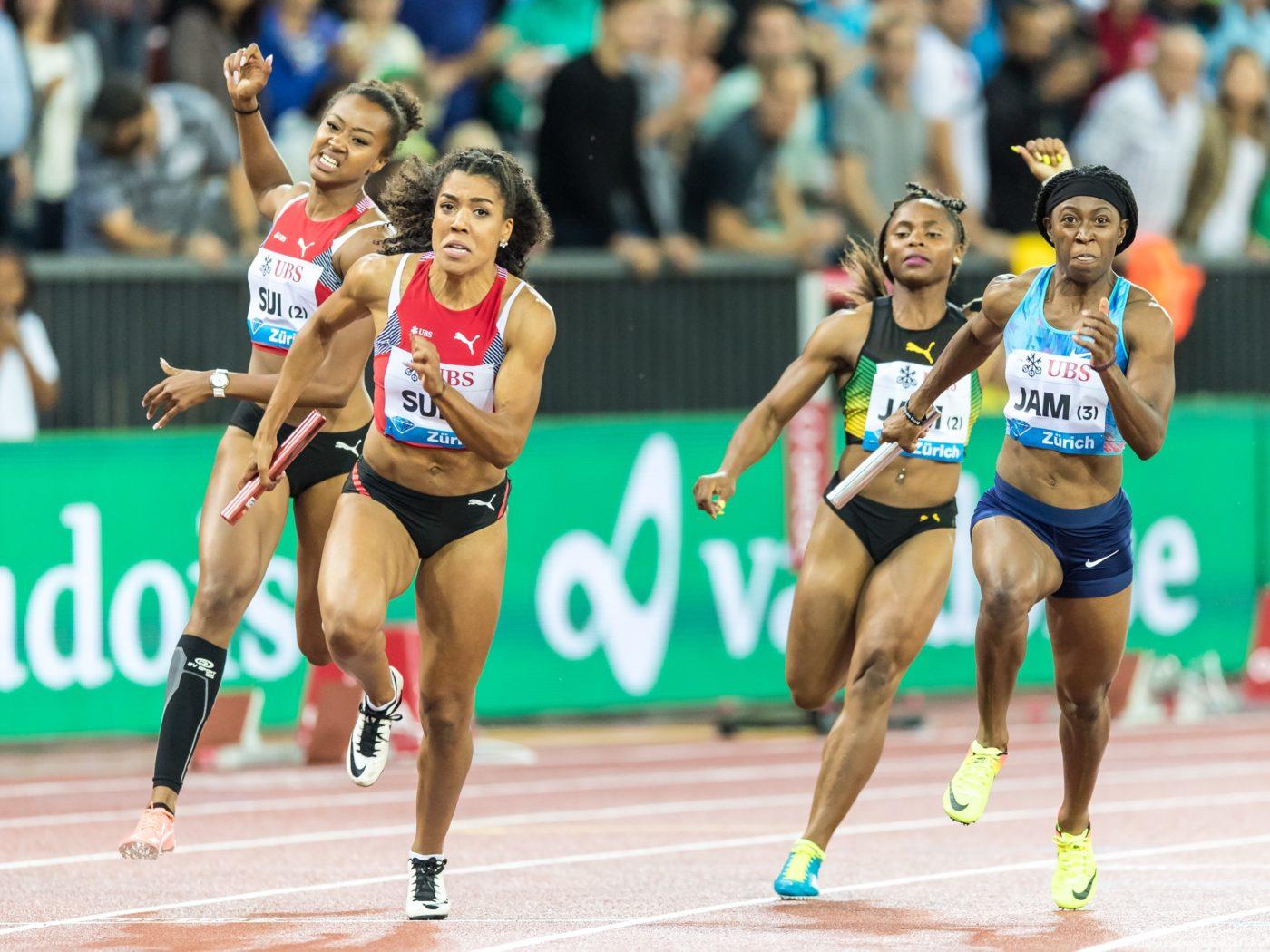 Mujinga Kambundji, Sarah Atcho (Photo: athletix.ch)