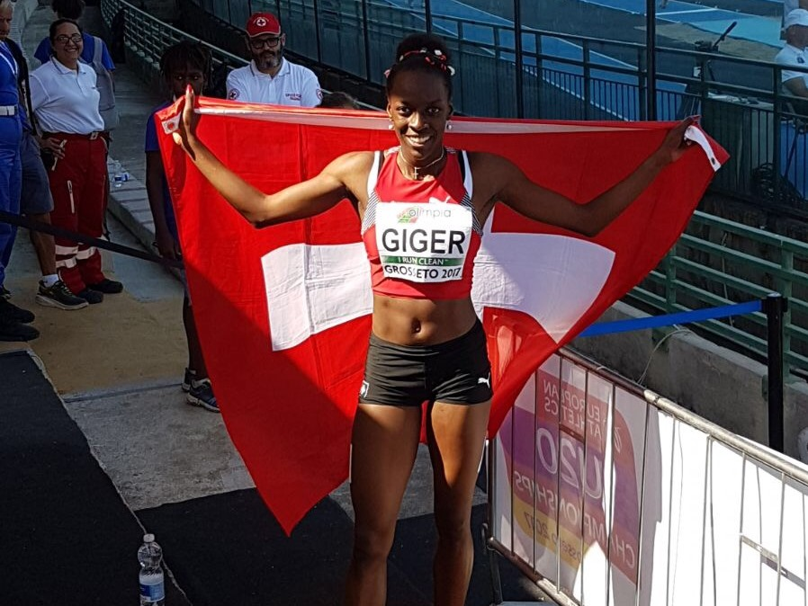 Yasmin Giger (Photo: Swiss Athletics)