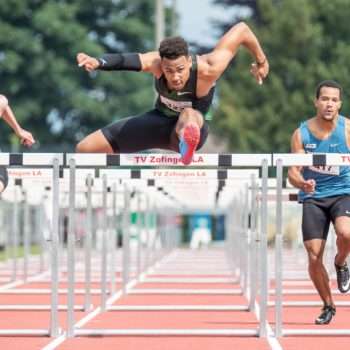 Jason Joseph am Pfingstmeeting 2018 in Zofingen (Photo: athletix.ch)