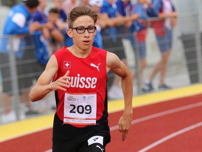Lionel Spitz (Photo: Swiss Athletics)